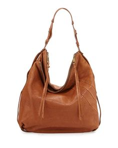 V2LDP Kooba Alina Leather Hobo Bag, Luggage