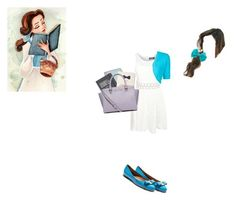 """""""Belle!!!!!!!!"""" by kawii1245 on Polyvore featuring Pilot, Michael Kors, Kate Spade, Salvatore Ferragamo, Topshop and MICHAEL Michael Kors"""