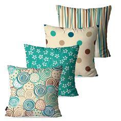 59 new Ideas almofadas patchwork sala Cushion Cover Designs, Cushion Covers, Throw Pillow Covers, Fabric Paint Designs, Brown Pillows, Sewing Pillows, Linen Curtains, Fashion Room, Sofa Pillows