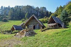 Starokeltské sídlo HAVRÁNOK nad priehradou Liptovská Mara
