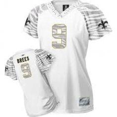 New Orleans Saints Drew Brees jersey with zebra print! WANTTTTT #whodat SHUT UP AND TAKE MY MONEY!!!