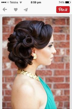 Hairstyles Vintage Wedding Simple Style Of Updos For Medium Length Hairstyle