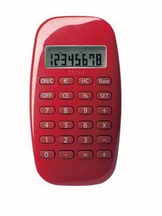 Lexon Galaxy Calculator in Red - LC64-R