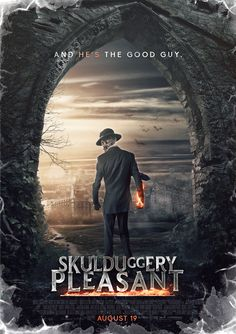 """Skulduggery Pleasant Poster by SkinnyGlasses """"This is your one chance. Tell me where the key is."""" Serpine raised an eyebrow."""" """"No, only joking. Do your worst. I Love Books, Great Books, Detective, Skulduggery Pleasant, World Of Books, Book Series, How To Look Pretty, Book Worms, Good Times"""