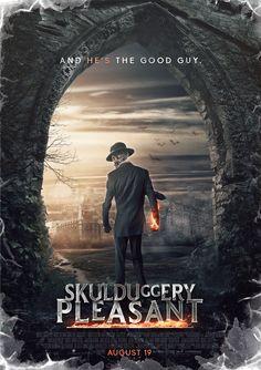 Skulduggery Pleasant Movie Poster by SkinnyGlasses.deviantart.com on @DeviantArt