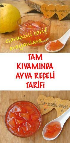 # Ayvatatlı of # Ayvareçelitarif of salad salad salad recipes grillen rezepte zum grillen Healthy Eating Tips, Healthy Nutrition, Diet Menu, Food Menu, Quince Jam Recipe, Jam Recipes, Snack Recipes, Keto Mug Cake, Vegetable Drinks