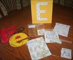Ee Elephant Activities & Printables