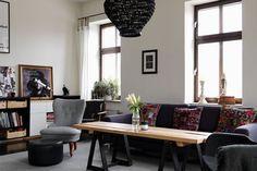 Appartement noir suédois |