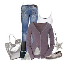 """""""Julie"""" by ljjenness ❤ liked on Polyvore featuring Vince, Witchery, TOMS, OPI and Mattlin Era"""