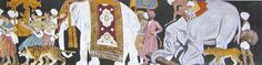 "Decorative frieze ""Empire"" by Maurice Grieffenhagen: British section, Galerie des Invalides (illustration 60A)"