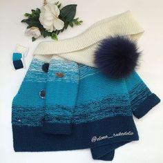 Children Cardigan Knitting