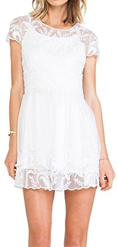Lovers + Friends Only the Young Sheer Embroidered Dress White (X-Small) Lovers+Friends http://www.amazon.com/dp/B01A9ZXGXI/ref=cm_sw_r_pi_dp_ThEMwb1YXTE0X