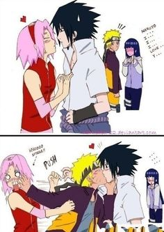 This is how the anime should have ended. SASUNARU ALL THE WAY!!!!