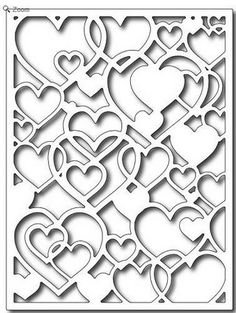 Frantic Stamper Precision Die - Open Hearts Card Panel-This lacy open heart background die measures x It's the perfect backdrop for Valentine cards, wedding cards, and many other love related projects. Kirigami, Inkscape Tutorials, Paper Cutting Patterns, Paper Art, Paper Crafts, Laser Cutter Projects, Frantic Stamper, Heart Background, Scroll Saw Patterns