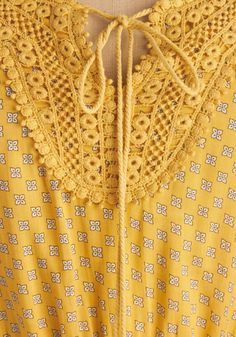 Sun For All Dress. When you wear this rich yellow dress, you cant help but beam! #yellow #modcloth