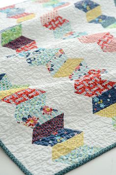 zipper quilt pattern by croskelley, via Flickr