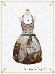 Alice and the Pirates Dear Sir,~Mystery in the Baker Street~jumper skirt Ⅰ