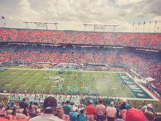 Football NFL! Miami Dolphins Sun Life Stadium