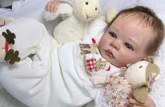 Reborn Doll Fake Baby Shannon Anne Timmerman Peek Boo Nursery Janet