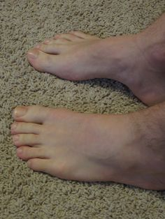 My feet by Giant Male Feet