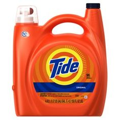 Tide HE Original Liquid Laundry Detergent 96 Loads, 150 fl oz