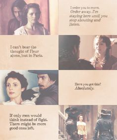 The Musketeers - Constance Appreciation Week :: Day one :: Favourite scene/line.