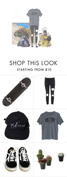 """""""ideally"""" by kuebiiko ❤ liked on Polyvore featuring Faith Connexion, Vans and Mason's"""