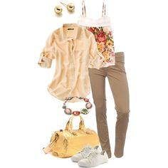 Simple spring. simple-wardrobe on Polyvore