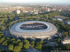 Niedersachsen-Stadion, Hannover. Saw Costa Rica-Poland and Switzerland-South Korea here at the 2006 World Cup.