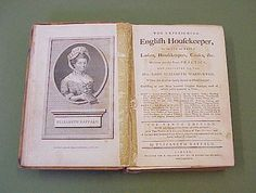 Great for research and loaded with 18th century recipes | 'The Experienced English Housekeeper'