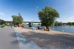Deichgärten and Donaupark by k1 Landschaftsarchitekten « Landscape Architecture Works   Landezine