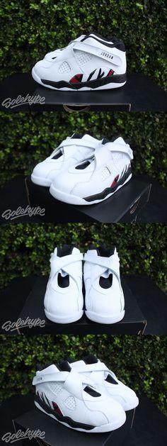 4ba25349eabfc0 Baby Shoes 147285  Air Jordan 8 Viii Retro Bt Td Alternate Sz 10 C White  Red Kids 305360 104 -  BUY IT NOW ONLY   64.99 on eBay!