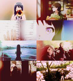 hibike! euphonium, sound! euphonium, kumiko, reina Reina Kousaka, Kyoto Animation, Fire Emblem, Me Me Me Anime, Manga, Feelings, Life, Manga Anime, Manga Comics