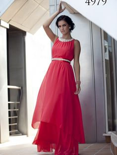 Primavera/Verano 2015 High Low, Formal Dresses, Red, Style, Fashion, Templates, Spring Summer 2015, Party Dress, Weddings