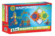 Amazon.com: MAGFORMERS Magnets n' Motion Gear Set, Large: Toys & Games