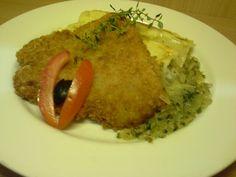 Canelloni risoto with fish...