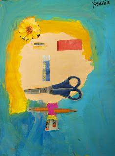 4th Grade Piven-Inspired Self Portraits