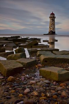 Talacre Lighthouse by Aaron Crowe, via 500px