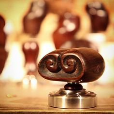 One of the 80 pieces coffee tamper design in my exhibition @ ...