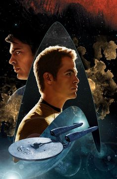 Posted by SF Series and Movies #StarTrek 2009/2013 illustration 1