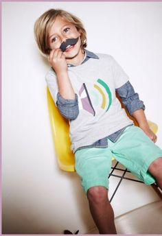MiniBoden's new line of childrenswear | #boys #style