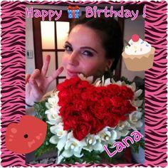 Happy Birthday Lana!