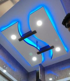 latest gypsum board false ceiling design for living room pop design for hall 2019 Drawing Room Ceiling Design, Plaster Ceiling Design, Gypsum Ceiling Design, Interior Ceiling Design, House Ceiling Design, Ceiling Design Living Room, Bedroom False Ceiling Design, Ceiling Decor, Gypsum Design