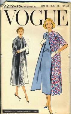 Vintage 1950s Vogue 9219 UNCUT Misses Easy to Make by RomasMaison, $16.00