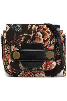 ef181f8078 Woman Jacquard Shoulder Bag Black - Black - Stella McCartney Shoulder bags