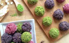 MATCHA, RASPBERRY & ACAI MACAROONS  | Get Organic Matcha http://www.amazon.com/MATCHA-Green-Tea-Powder-Antioxidants/dp/B00NYYVWFQ