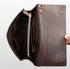 Men's Genuine Crocodile Wallet, Crocodile Envelope Flap Briefcase Purse Clutch Bag-Inside Diaper Bag, Briefcase, Clutch Wallet, Crocodile, Envelope, Backpacks, Handbags, Purses, Vietnam
