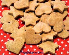 Easy to make gluten-free, grain-free peanut butter dog treat recipe.