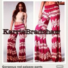 GORGEOUS AND COMFY PATTERNED HAREM TRIBAL PANTS Red Palazzo Pants, Harem Pants, Tribal Pants, Festival Outfits, Festival Clothing, Wide Leg Jeans, Bell Bottoms, Tie Dye Skirt, Women Wear