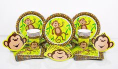 Monkeying Around Standard Party in the Box  $22.95 caters for 8 guests